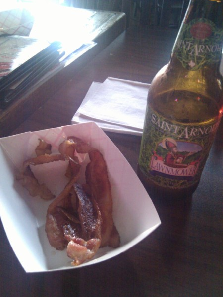 Bacon and beer